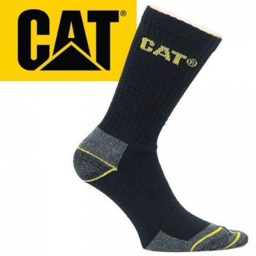 Sokken CAT Workwear zwart set 3 paar maat 41-45