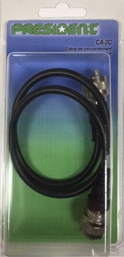 Rallonge c ble antenne cb pl pl 33cm president tout pour votre voiture et camion delrue - Rallonge cable antenne ...