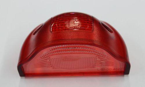 cabouchon de remplacement illumination plaque rouge ovale tout pour votre voiture et camion delrue. Black Bedroom Furniture Sets. Home Design Ideas