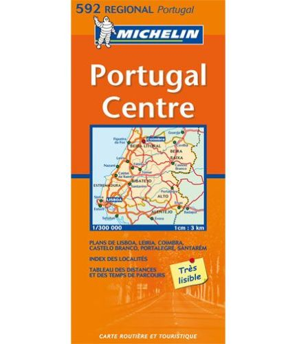 Map Michelin Nr Portugal Center All For Your Car And Truck - Portugal map michelin