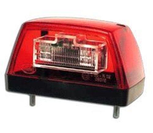 eclairage de plaque led 24v trapezium 1 pi ce tout pour votre voiture et camion delrue. Black Bedroom Furniture Sets. Home Design Ideas