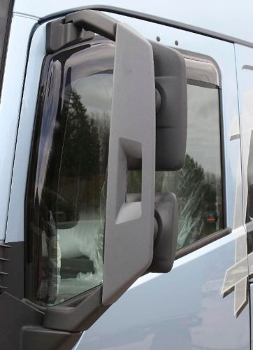 Side wind deflector set volvo fh4 fm4 2013 all models for Camion americain interieur cabine