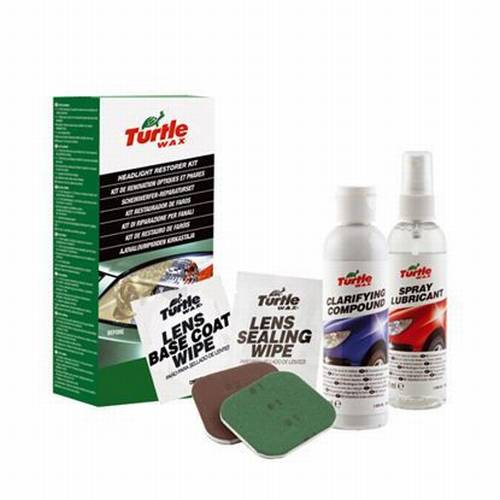 turtle wax kit de r novation optique et phares tout pour votre voiture et camion delrue. Black Bedroom Furniture Sets. Home Design Ideas