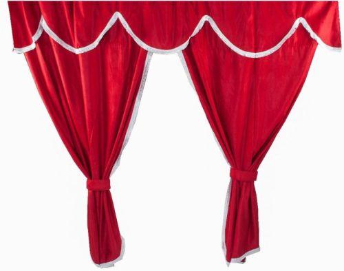 comfy line entre rideau 180cm rouge tout pour votre voiture et camion delrue. Black Bedroom Furniture Sets. Home Design Ideas