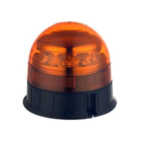 gyrophare 14cm led orange montage fixe 12 24v ece r65 tout pour votre voiture et camion delrue. Black Bedroom Furniture Sets. Home Design Ideas