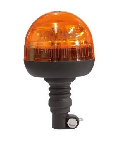 gyrophare 23 5cm led orange sur barre 12 24v ece r65 tout pour votre voiture et camion delrue. Black Bedroom Furniture Sets. Home Design Ideas
