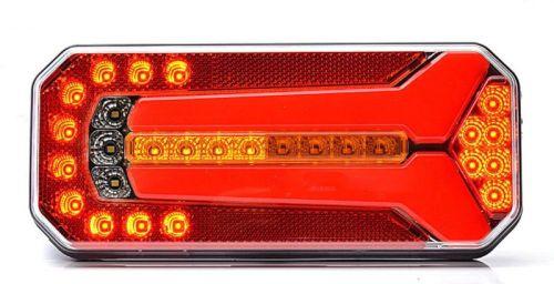 """Achterlicht LED """"Motion"""" H10,5cm 12V/24V (5-functies)"""