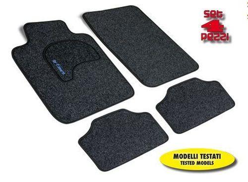 tapis de sol voiture exclusive 4pcsnoir model 4 tout pour votre voiture et camion delrue. Black Bedroom Furniture Sets. Home Design Ideas