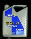 "Marly motorolie ""Gold special"" 20W50 5L"