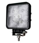 Werklamp 5LED vierkant 11x11x4cm 9V-30V 1100 Lumen