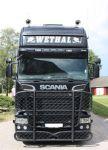 Zonneklep kunststof + 8cm Scania Streamline >08/2013-