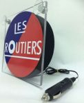 "Raamverlichting LED Les Routiers ""Deluxe"" 17x17cm 12/24V"