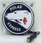 """Raamverlichting LED Polar links """"Deluxe"""" 17x17cm 12/24V"""