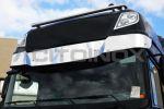 Zonneklep inox 2MM  DAF XF 105, XF106 Euro 6