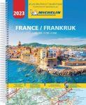 Michelin toeristische wegenatlas France 2017 (A4 spiraal)