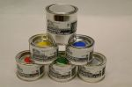 Bandenverfkit special camion blauw125ml