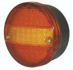 Achterlicht LED 3 functies 14cm 12V/24V