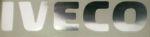 Klever truckmerk IVECO 5 cm chroom