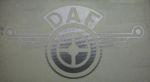 Kleverset DAF veer 20 cm chroom - 2stuks