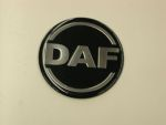 Logo rond Daf dia 70 mm zwart/silver