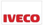 Spatlapset wit IVECO tekst/rood