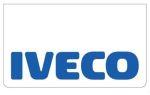 Spatlapset wit IVECO tekst/blauw