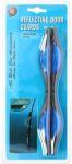 Deurbeschermers ovaal 20cm blauw 2stuks