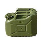Jerrycan 10L metaal groen