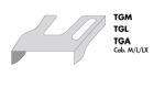 Italy motorkaphoes MAN TGA/TGL M/XL-cabine grijs