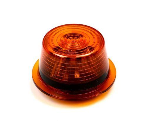 """Inzet LED oranje (oranje glas) 10-30V Zweedse breed. """"Gylle"""""""