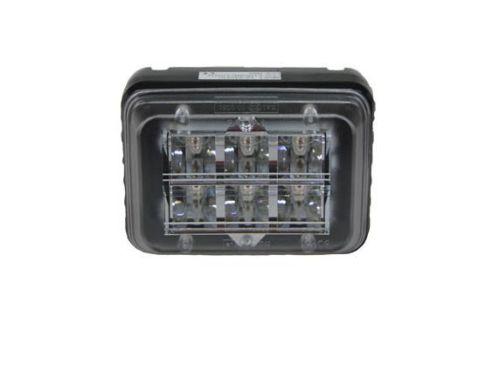 Stroboscooplamp oranje 6LED 10V-30V(beugel-montage)