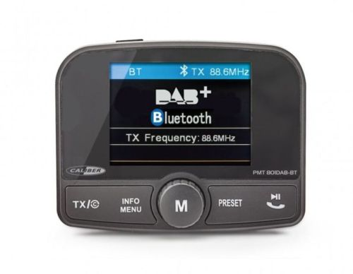 Caliber DAB/FM/Bluetooth transmitter SD/AUX (12V+24V)