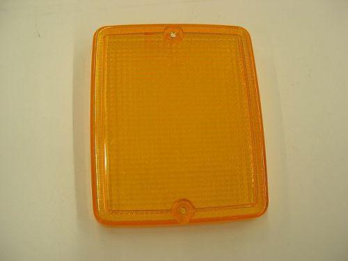 Hella lampglas oranje bumper rechthoek