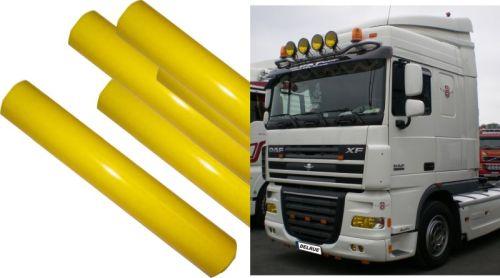 film teint jaune pour lampes 30cmx 100cm tout pour votre voiture et camion delrue. Black Bedroom Furniture Sets. Home Design Ideas