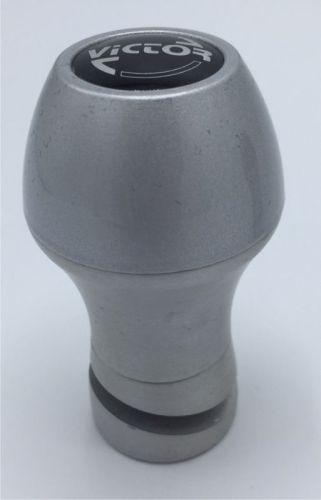 Victor stuurknop alu/silver