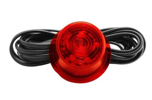"""Inzet LED rood (rood glas) 10-30V Zweedse breedtepaal """"Gylle"""