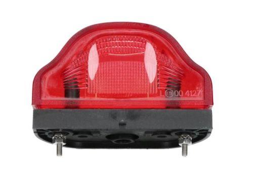 eclairage plaque rouge ovale tout pour votre voiture et camion delrue. Black Bedroom Furniture Sets. Home Design Ideas