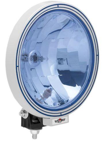Verstraler SIM rond Ø22cm blauw + standlicht voor T10-lamp