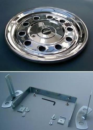 enjoliveur nr 21 jumbo inox 22 5 plat arri re montage tout pour votre voiture et camion delrue. Black Bedroom Furniture Sets. Home Design Ideas