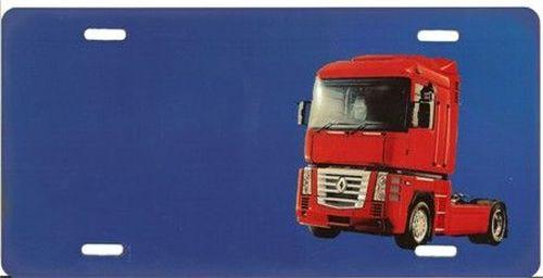 plaque bleu renault rouge nom tout pour votre voiture et camion delrue. Black Bedroom Furniture Sets. Home Design Ideas