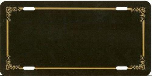plaque noir cadre nom tout pour votre voiture et camion delrue. Black Bedroom Furniture Sets. Home Design Ideas