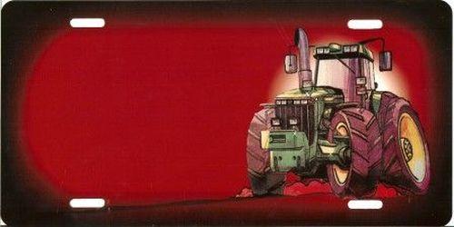 plaque rouge tracteur nom tout pour votre voiture et camion delrue. Black Bedroom Furniture Sets. Home Design Ideas