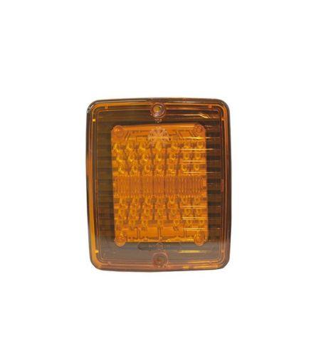 feu clignotant 56led orange rectangle 24v tout pour. Black Bedroom Furniture Sets. Home Design Ideas