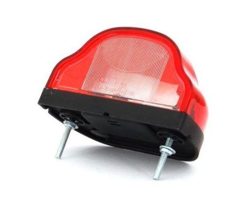 eclairage de plaque rouge ba15s ovale 1 pi ce tout pour votre voiture et camion delrue. Black Bedroom Furniture Sets. Home Design Ideas