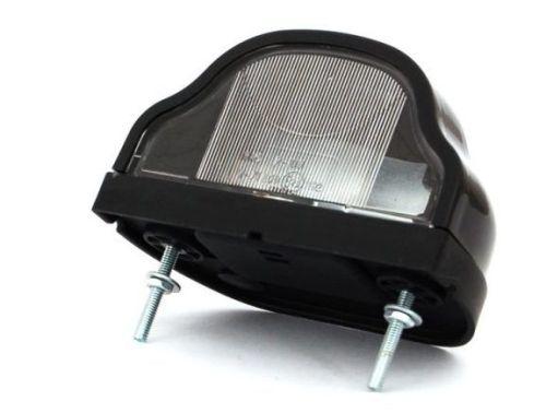 eclairage de plaque noir ba15s ovale 1 pi ce tout pour votre voiture et camion delrue. Black Bedroom Furniture Sets. Home Design Ideas