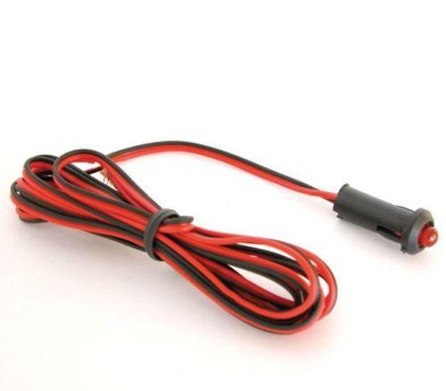 Alarmsimulator met LED rood 12V