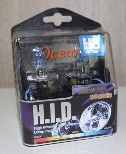 Lampenset 12V/H3 55W HID super white xenon