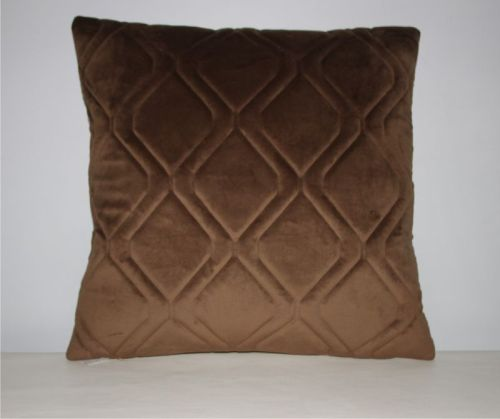 dl coussin 50x50 cm elg brun motif mattelass tout pour votre voiture et camion delrue. Black Bedroom Furniture Sets. Home Design Ideas