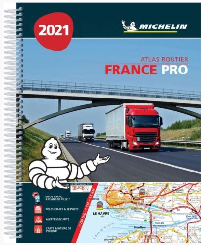 michelin atlas routier france pro 2018 a4 spirale tout pour votre voiture et camion delrue. Black Bedroom Furniture Sets. Home Design Ideas