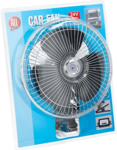 ventilateur clip 25cm oscillant 24v 10 tout pour. Black Bedroom Furniture Sets. Home Design Ideas